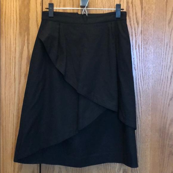 Anthropologie Skirts Origami Skirt Poshmark